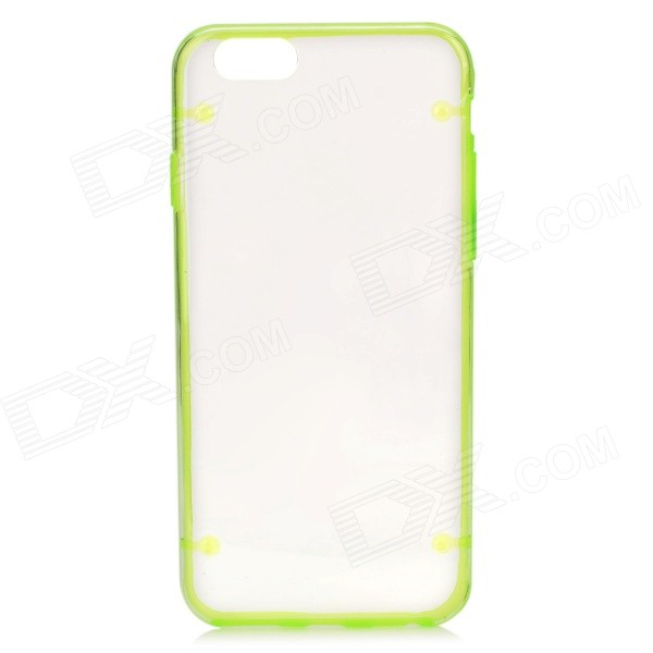 "Glow-in-the-Dark asunto de protección para PC IPHONE 6 4.7 ""- Transparente + Verde"