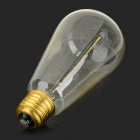 MLSLED MLX-SDS E27 60W 380lm Warm White Light Tungsten Filament Bulb - Translucent (AC 230V)