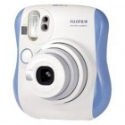 Genuine Fujifilm Instax MINI 25 Instant Film Camera - Blue + White