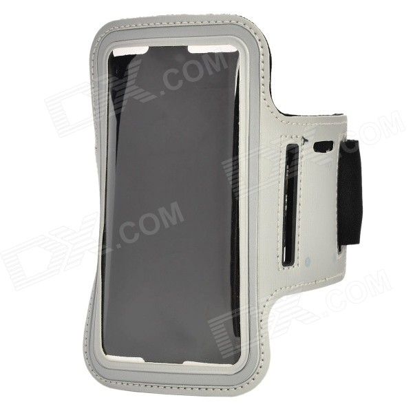 Protective Multispandex Armband for IPHONE 6 4.7 - Grey + Black