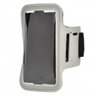 "Protective Multispandex Armband for IPHONE 6 4.7"" - Grey + Black"