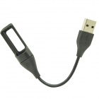 KF20 USB Charging Cable for Fitbit Flex Wireless Wristband Bracelet Kimisohand - Black