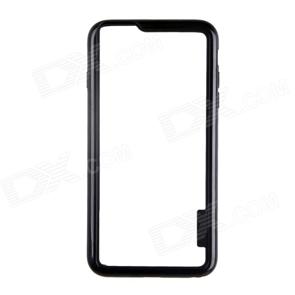 Protective TPU + PC Bumper Frame Case for 5.5 IPHONE 6 Plus - Black protective tpu bumper frame case for iphone 6 4 7 yellow black