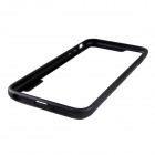"Protective TPU + PC Bumper Frame Case for 5.5"" IPHONE 6 Plus - Black"