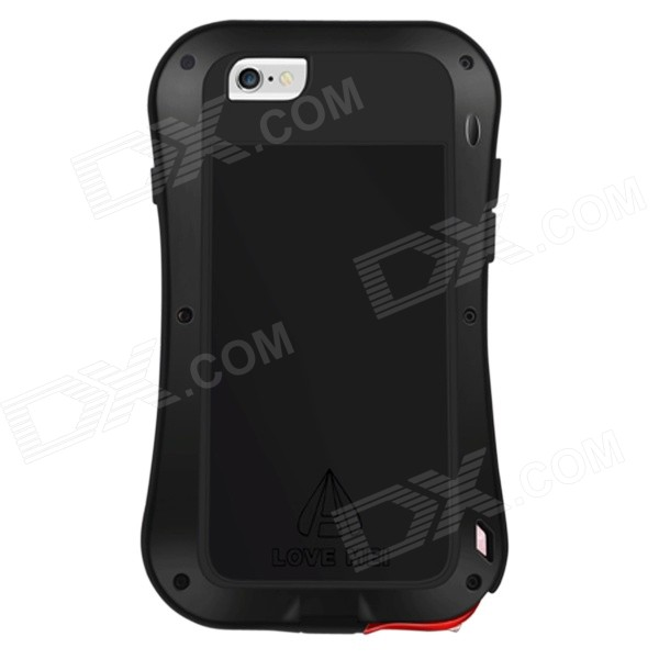 LOVE MEI Slim Waist Waterproof Shockproof Aviation Aluminum Alloy Case for 4.7 IPHONE 6 - Black - DXMetal Cases <br>Features: 1. Made of special aviation aluminum alloy refined from CNC. 2. Fashion and elegant appearance design. 3. Close-fitting and good signal for iPhone 6. 4. Easy to assemble precision holes reserved. 5. Coating the surface of nano more durable and wearable. 6. Shockproof and anti-bumper better protect your phone. 7. Ultra light brand new creative design.<br>