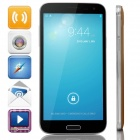 "G9000 MTK6592 Octa-Core Android 4.2.2 WCDMA Bar Phone w/ 5.3"" IPS, 8GB ROM, OTG, GPS - Gold + Black"