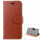"Protective PU Leather + PC Case for IPHONE 6 4.7"" - Brown"