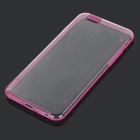 "Glow-in-the-Dark Protective PC Back Case for IPHONE 6 4.7"" - Transparent + Deep Pink"