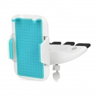 Universal ABS Car CD Slot Mount Holder for IPHONE / Samsung / Xiaomi - Blue + White