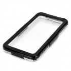 "I-101 Protective Waterproof Diving Case w/ Strap for IPHONE 6 4.7"" - Black + Transparent"