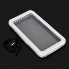 "I-101 Protective Waterproof Diving Case w/ Strap for IPHONE 6 4.7"" - White + Transparent"