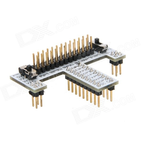 Elecfreaks RPI GPIO Breadboard Adapter for Raspberry Pi - Silver