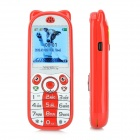 "K18 Mini Cute GSM Kid's Phone w/ 1.44"" Screen, Quad-band, Bluetooth Dial, SOS, Positioning - Red"
