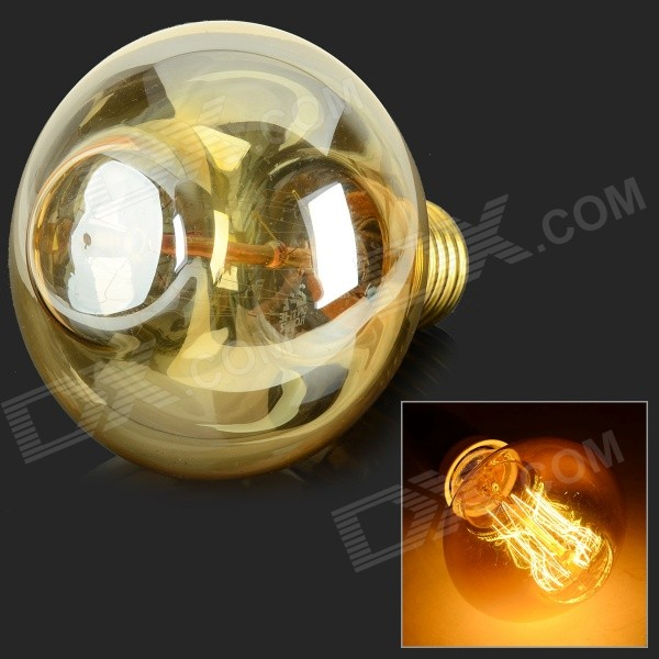 MLSLED MLX-GD-Z E27 40W 260lm Warm White Tungsten Filament Bulb - Translucent White (AC 230V)
