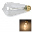 MLSLED MLX-SY E27 40W 260lm Warm White Tungsten Filament Bulb - Transparent (AC 230V)