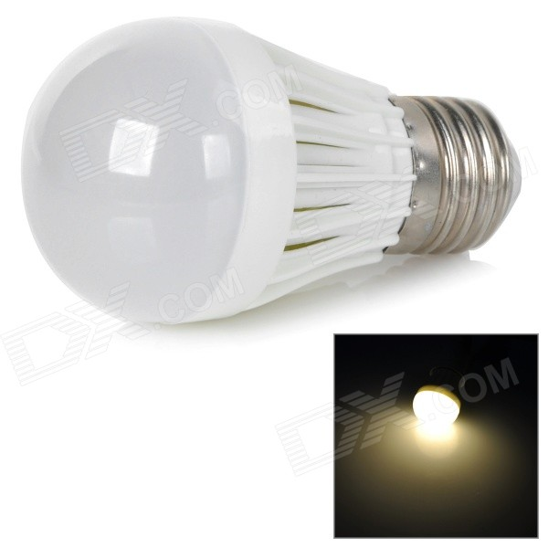 YouOKLight B50-6P-WW E27 3W 6-5730 SMD LED Warm White Bulb - White (AC 85~265V)