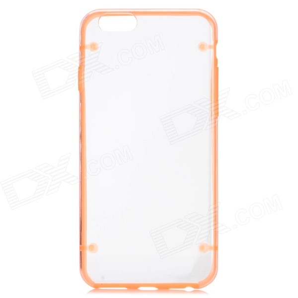 "Glow-in-the-Dark Caja protectora PC nuevo caso para IPHONE 6 4.7 ""- Transparente Naranja +"