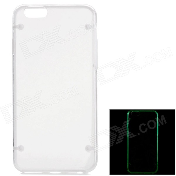 "Glow-in-the Dark Protective PC Back Case voor iPhone 6 4.7 ""- Doorzichtig"