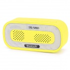SLANG Q3 3W Bluetooth V3.0 Multifunktionslautsprecher w / FM / Micro-USB / TF / USB / 3,5 mm - Gelb