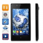 "NX SC7715 Android 4.4.2 WCDMA Bar Phone w/ 4.0"" Screen, Wi-Fi and GPS - Black"