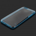 "Glow-in-the Case -Dark Protective PC Voltar para o iPhone 6 4.7 ""- Transparente + Azul"