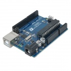UNO Junta R3 + 9g Servo + Kit Holder + Protoboard Cables para Arduino - Deep Blue + Multicolor