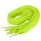 Replacement Sports Nylon Shoelaces - Fluorescent Yellow (10PCS)