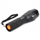 UltraFire E17 5-Mode White Zooming Flashlight - Black (1*18650/3*AAA)