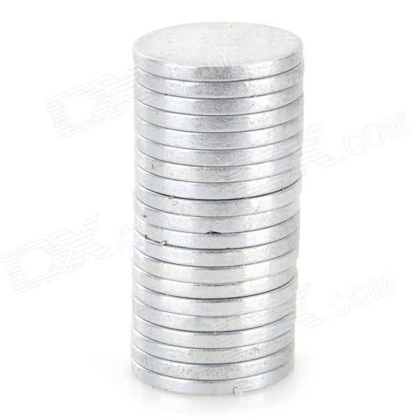 SZGAOY 14081907 N38 NdFeB Round Magnets - Silver (20 PCS) szgaoy 14081905 rectangular n38 ndfeb magnets silver 20 pcs