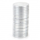 SZGAOY 14081907 N38 NdFeB Round Magnets - Silver (20PCS)