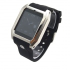 "TW206B Bluetooth V3.0 Partner GSM Watch Phone w/ 1.54"" Resistive Screen, Quad-band - Black + White"