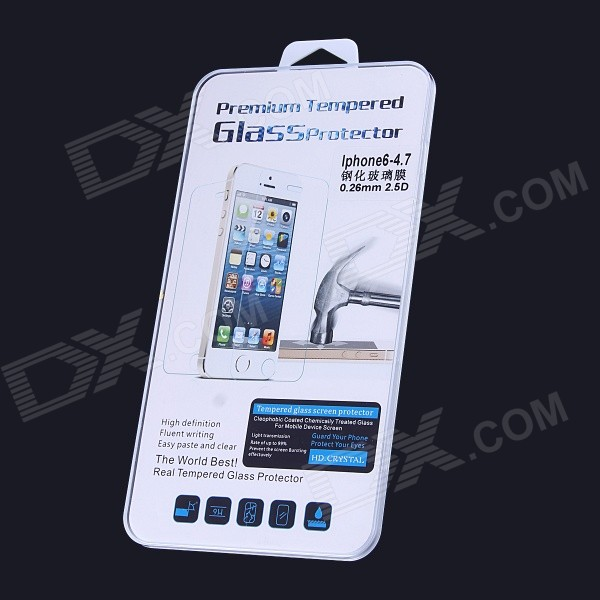 AOLUGUYA Ultrathin 0.26mm 2.5D Tempered Glass Screen Protector for IPHONE 6 4.7
