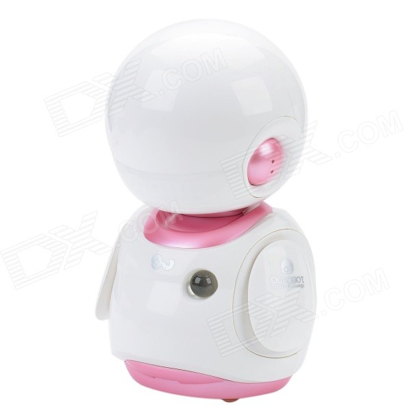 OU FS8 Multifunction Early Childhood Educational Music Robot Toy w/ Interaction / LED - White + Pink mohd mazid and taqi ahmed khan interaction between auxin and vigna radiata l under cadmium stress