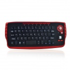 2.4GHz Wireless Trackball Keyboard and Mouse Set- Black + Red