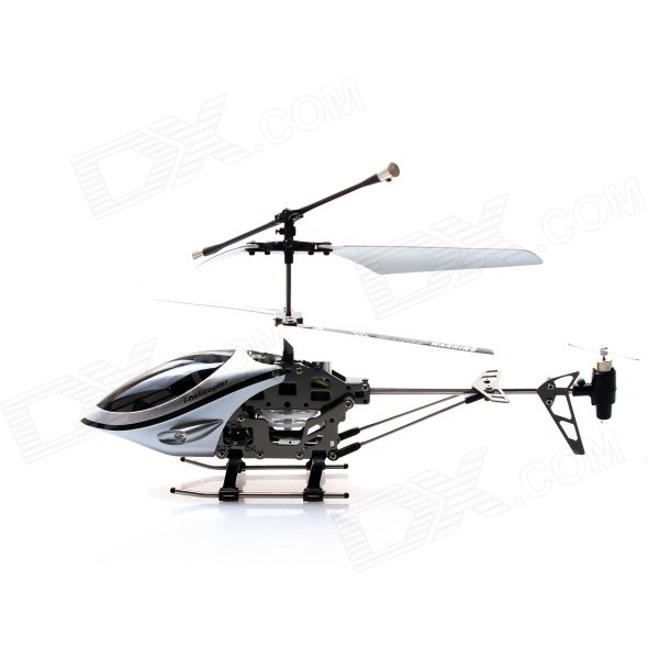 Фото - 3-CH Handle Sensing Remote Control Aircraft w/ Gyro - Silvery White + Black (5 x AA) chunghop rm l7 multifunctional learning remote control silver