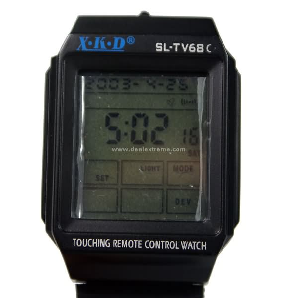 Touch-Screen TV/VCD Remote Controller Watch