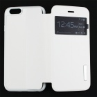 "Housse en cuir ultra doux PU + TPU w / Stand pour 4,7 ""IPHONE 6 - Blanc"