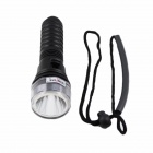 KINFIRE S1 600lm LED Diving Flashlight Torch w/ CREE XM-L T6 - Black (1 x 18650)