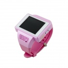 "AN1 Android 4.1 GSM Smart Watch Phone w / 2,0 ""capacitieve touchscreen, Wi-Fi, Bluetooth, GPS - Roze"