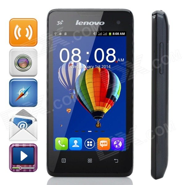 Lenovo A238T Android 2.3 Quad-Core Bar Phone w/ 4.0