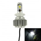 IN-Color Universal H7 15W 1500LM 6000K White Light LED Motorcycle Headlamp w/ Cree XML-U2 (8~48V)