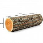 Lovely Cylindrical Wooden Style Pillow