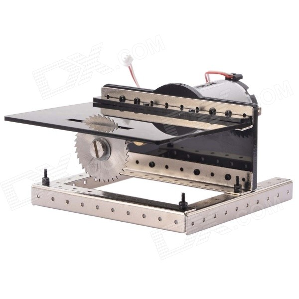 NEJE SD0003-1 DIY Mini Table Saw Cutting Machine - Black 500w 24v motor brush motor electric tricycle dc brushed motor with bottom plate electric scooter motor