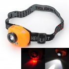 Pange Infrared Induction 230lm 3-Mode White + Red Light Headlamp w/ Cree XP-E Q5 + 4-LED (3 x AAA)