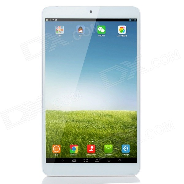 Onda V820 Allwinner A31S Quad-Core Android 4.2.2 Tablet PC w/ 8.0,1GB RAM, 16GB ROM, Wi-Fi - Silver zhiyusun new 10 4 inch touch screen 4 wire resistive usb touch panel overlay kit free shipping 225 173