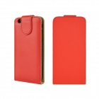 "Angibabe Flip Up & Down PU Leather Cover Case for IPHONE 6 4.7"" - Red"