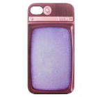 Color Painted Old Television Pattern Ultrathin Shockproof Protective PC Back Case for IPHONE 4 / 4S