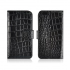 Angibabe Crocodile Pattern Split Leather Flip Open Case w/ Card Slot / Holder for IPHONE 6  4.7""