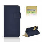 "Angibabe Stylish Flip Open PU Case w/ Stand / Card Slots for IPHONE 6 4.7"" - Blue"