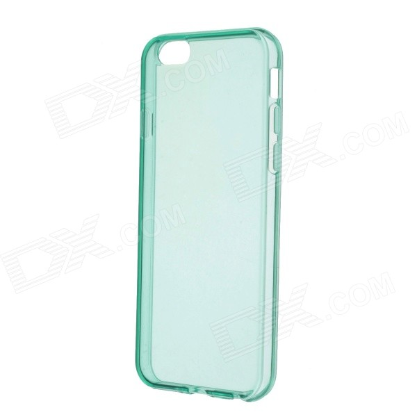 Stylish Matte TPU Protective Back Case for 4.7 IPHONE 6 - Green roar korea for iphone 7 plus all day jelly matte tpu back case cyan